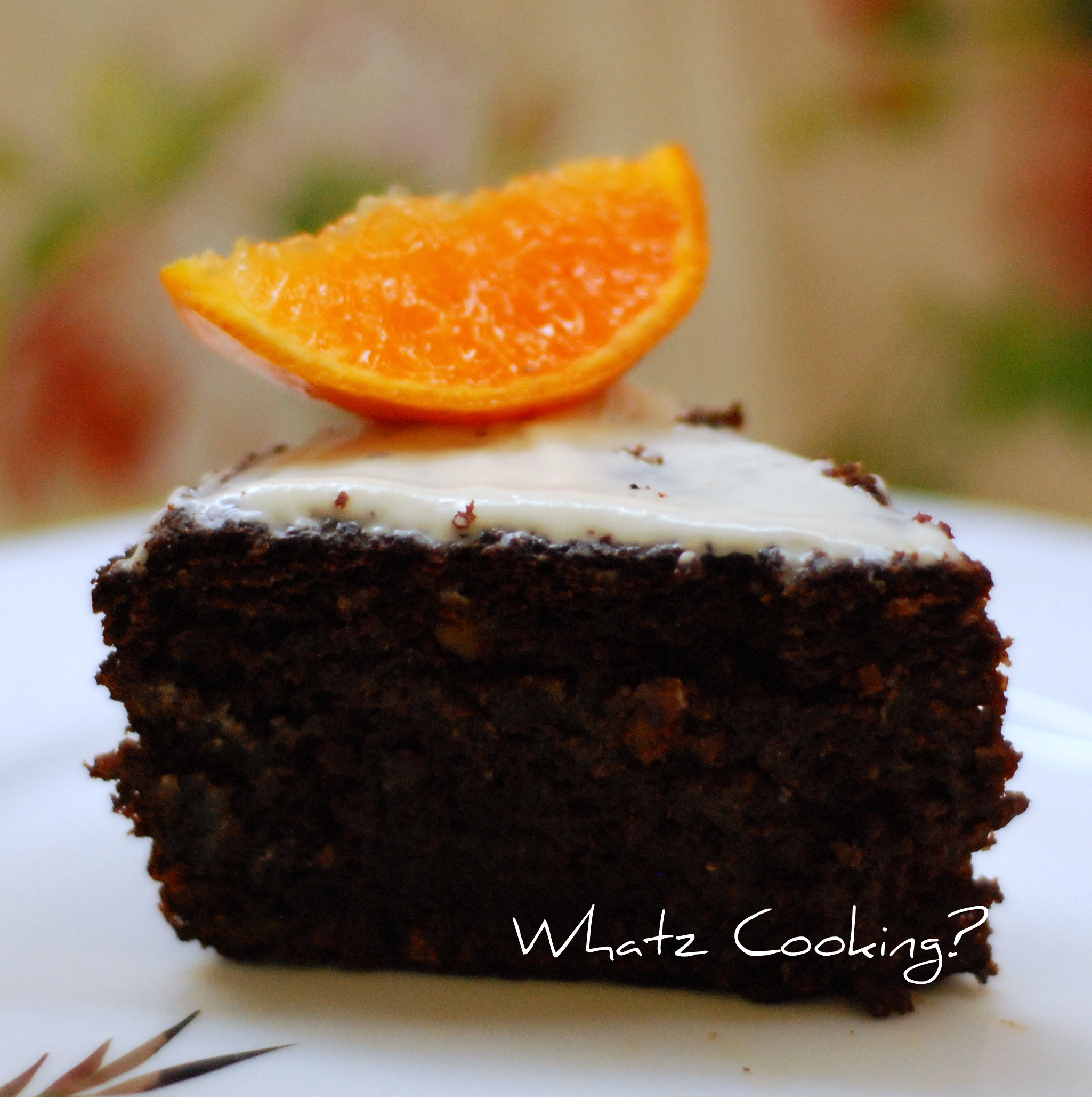 Chocolate-Orange Cake - What's Cooking?